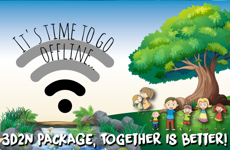 Together is Better!, It's time to go offline...